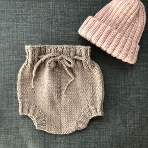 Other - Hand knit by me baby bloomers